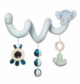 Safari Elephant Spiral Stroller Toy