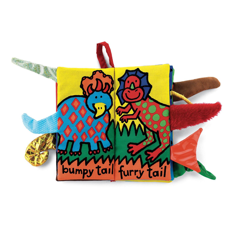 Dino Tails Soft Book