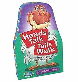 Think Fun Heads Talk Tails Walk