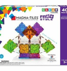 Magnatiles X FreeStyle 40 Piece Set