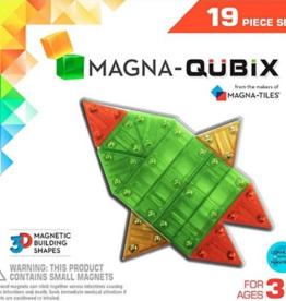 Magnatiles Magnatiles Magna-Qubix 19 Piece Set