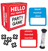 Hello My Name is Party Game