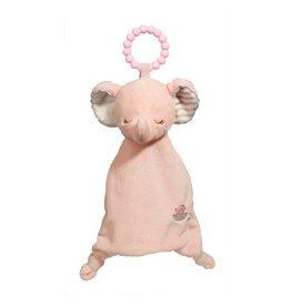 Douglas Company Pink Elephant Lil' Sshlumpie Teether