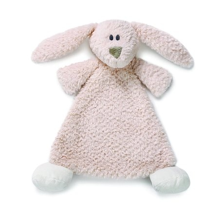 Nat and Jules Bunny Rattle Blankie