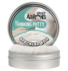 Crazy Aarons Putty World Crazy Aaron's Glow Putty Speckled Egg