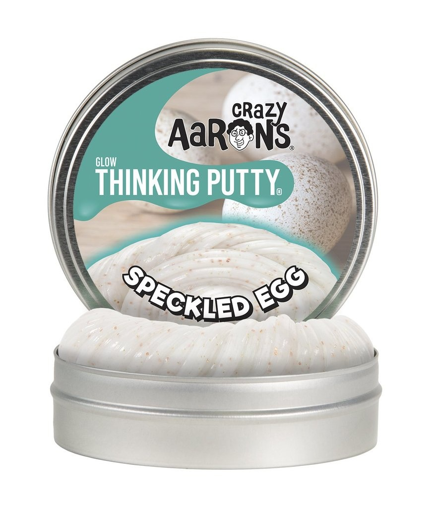 Crazy Aaron's Glow Putty Speckled Egg