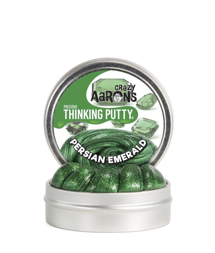 Crazy Aarons Putty World Crazy Aaron's Precious Thinking Putty Persian Emerald