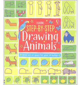 Usborne Step-By-Step Drawing Animals