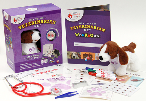 Little Medical School Veterinarian Kit