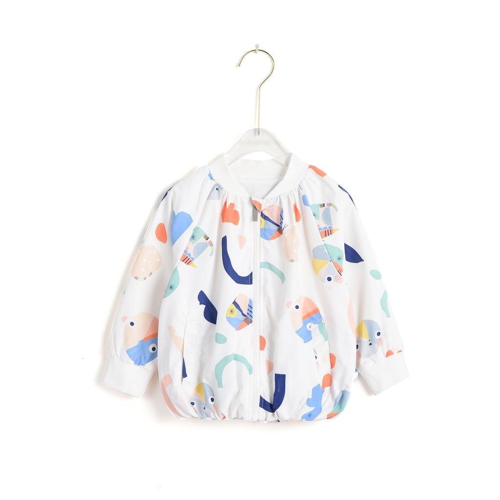 Aimama Overall Print Jacket White