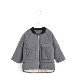 Aimama Aimama Quilted Jacket Dark Grey