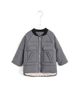Aimama Quilted Jacket Dark Grey