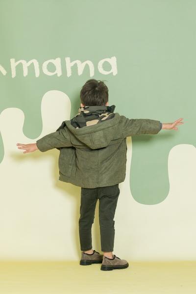Aimama Puffer Jacket Army Green