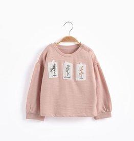 Aimama Aimama Patched Sweatshirt Pink