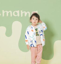 Aimama Aimama Overall Print Jacket White