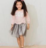 Aimama Patched Sweatshirt Pink