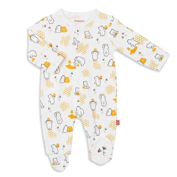 Magnetic Me Magnetic Me Honey Bee Footie Pajamas