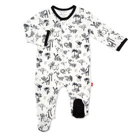 Magnetic Me Magnetic Me Safari Footie Pajamas