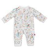 Magnetic Me Magnetic Me Pop Jungle Coverall Pajamas