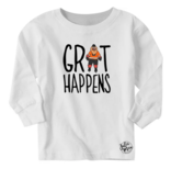 JuliaMax Grit Happens Long Sleeve Tee