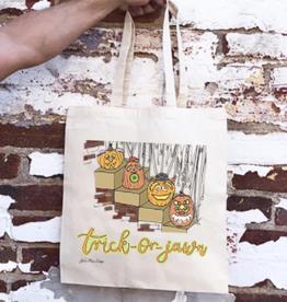 JuliaMax Trick-or-Jawn Tote Bag