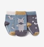 Elegant Baby Elegant Baby Socks 3 Pack Zebra