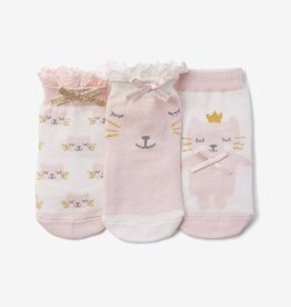Elegant Baby Elegant Baby Socks 3 Pack Kitty