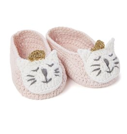 Elegant Baby Elegant Baby Crochet Booties Princess Kitty