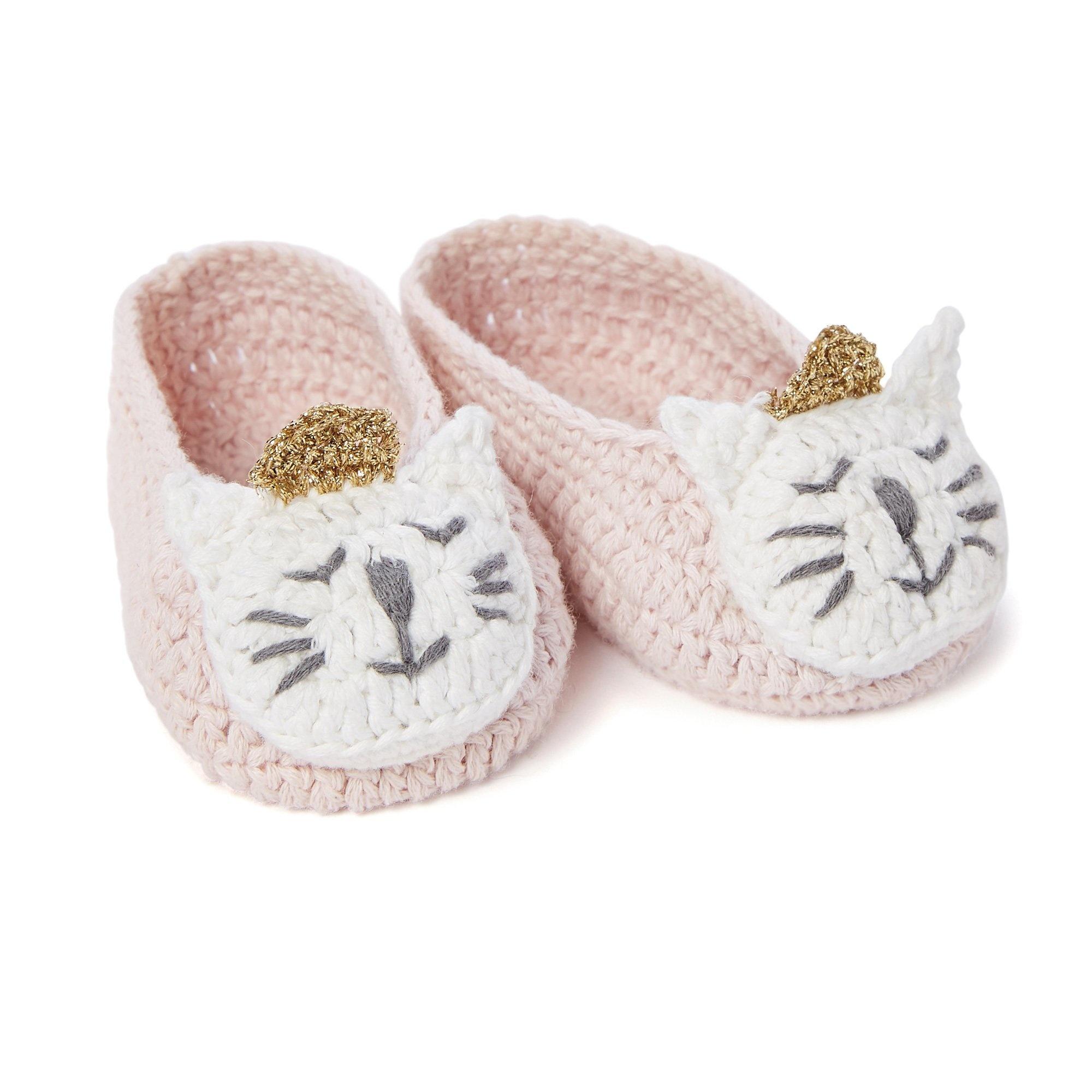 Elegant Baby Elegant Baby Crochet Booties Princess Kitty
