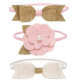 Elegant Baby Elegant Baby 3-Pack Felt Headbands