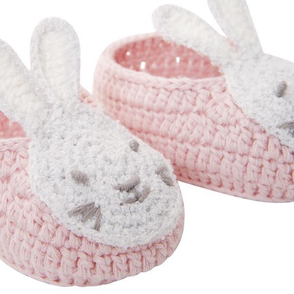Elegant Baby Elegant Baby Crochet Booties Bella Bunny