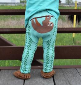 Doodle Pants Doodle Pants Happy Sloth Leggings