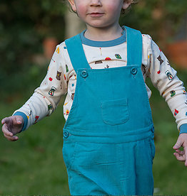 Little Green Radicals Little Green Radicals Mountain Blue Classic Dungarees