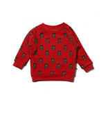 Little Green Radicals Little Green Radicals Mountain Bears Red Sweatshirt
