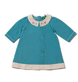 Little Green Radicals Little Green Radicals Mountain Blue Button Down Dress