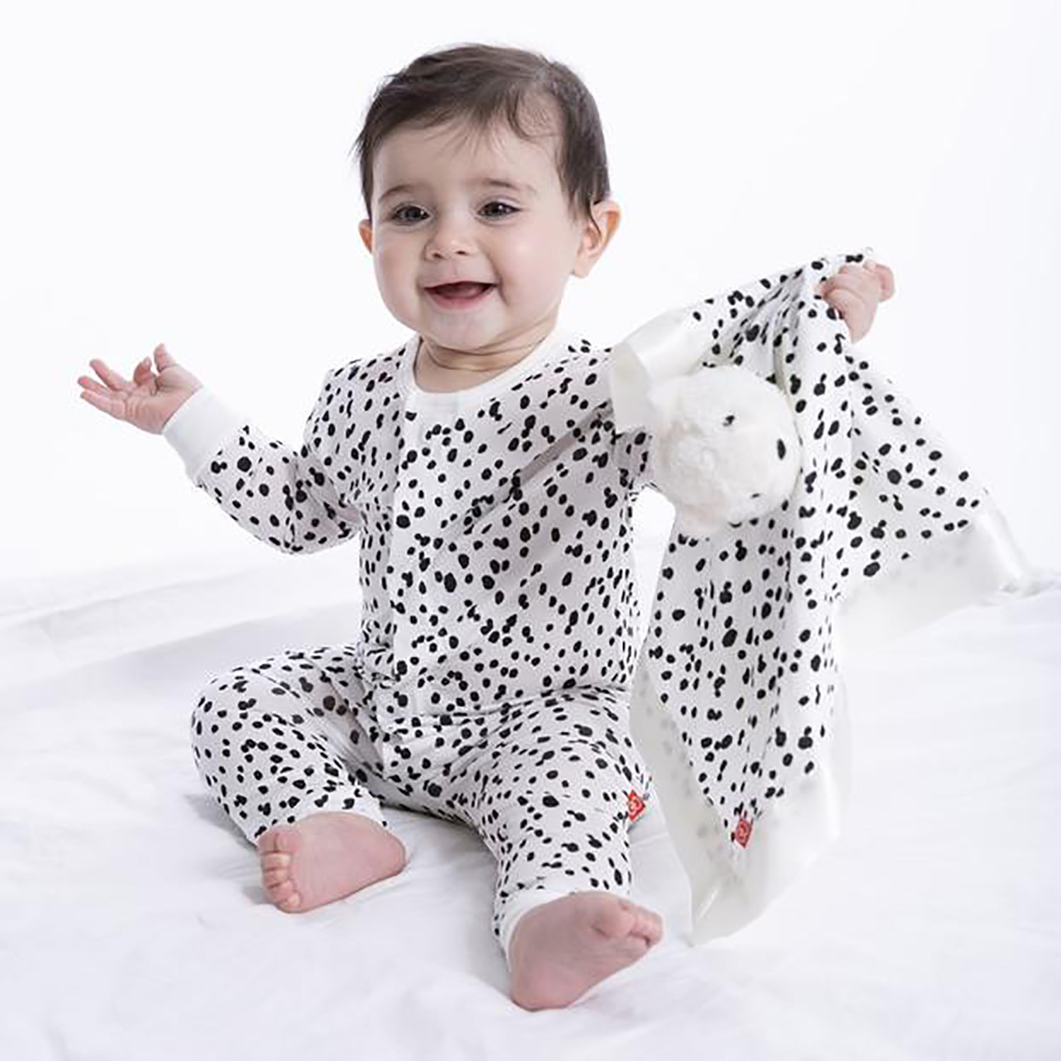 Magnetic Me Magnetic Me Seeing Spots Footie Coverall Pajamas