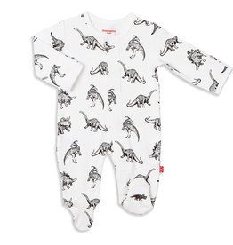 Magnetic Me Magnetic Me Babe-A-Saurus Footie Pajamas