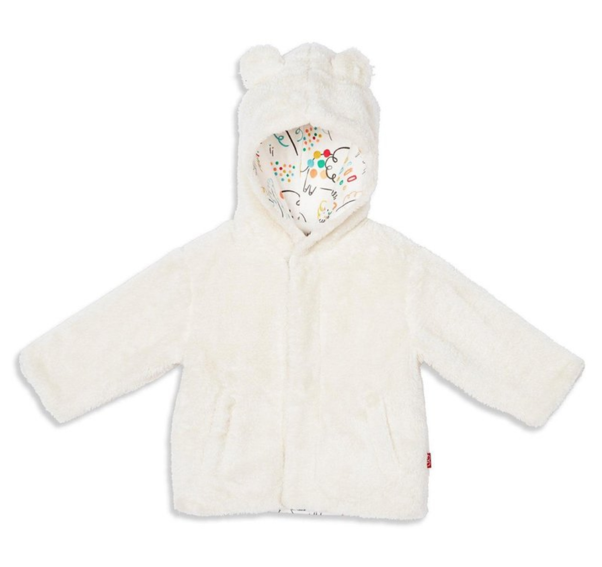 Magnetic Me Minky Fleece Magnetic Jacket Cream