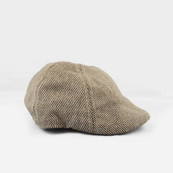 The Blueberry Hill The Blueberry Hill Tweed Driving Cap Tan