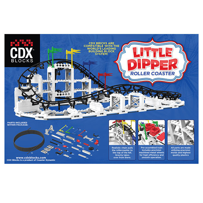 CDX Blocks The Little Dipper Roller Coaster