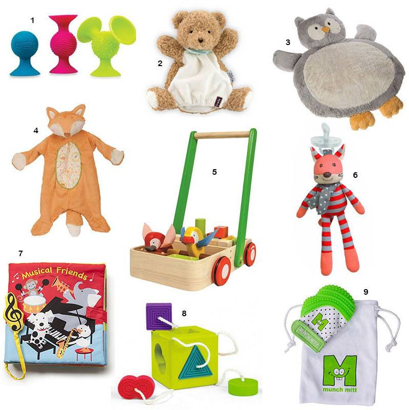 Top Nine Gifts for Babies