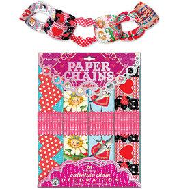 eeBoo Valentine Paper Chains