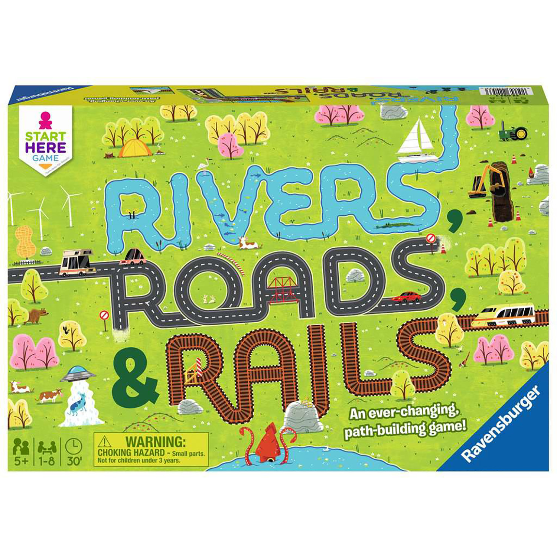 River, Roads, and Rails