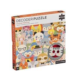 Animal Decoder Puzzle 100pc