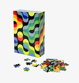 Areaware Pattern Puzzle Sm 100pc