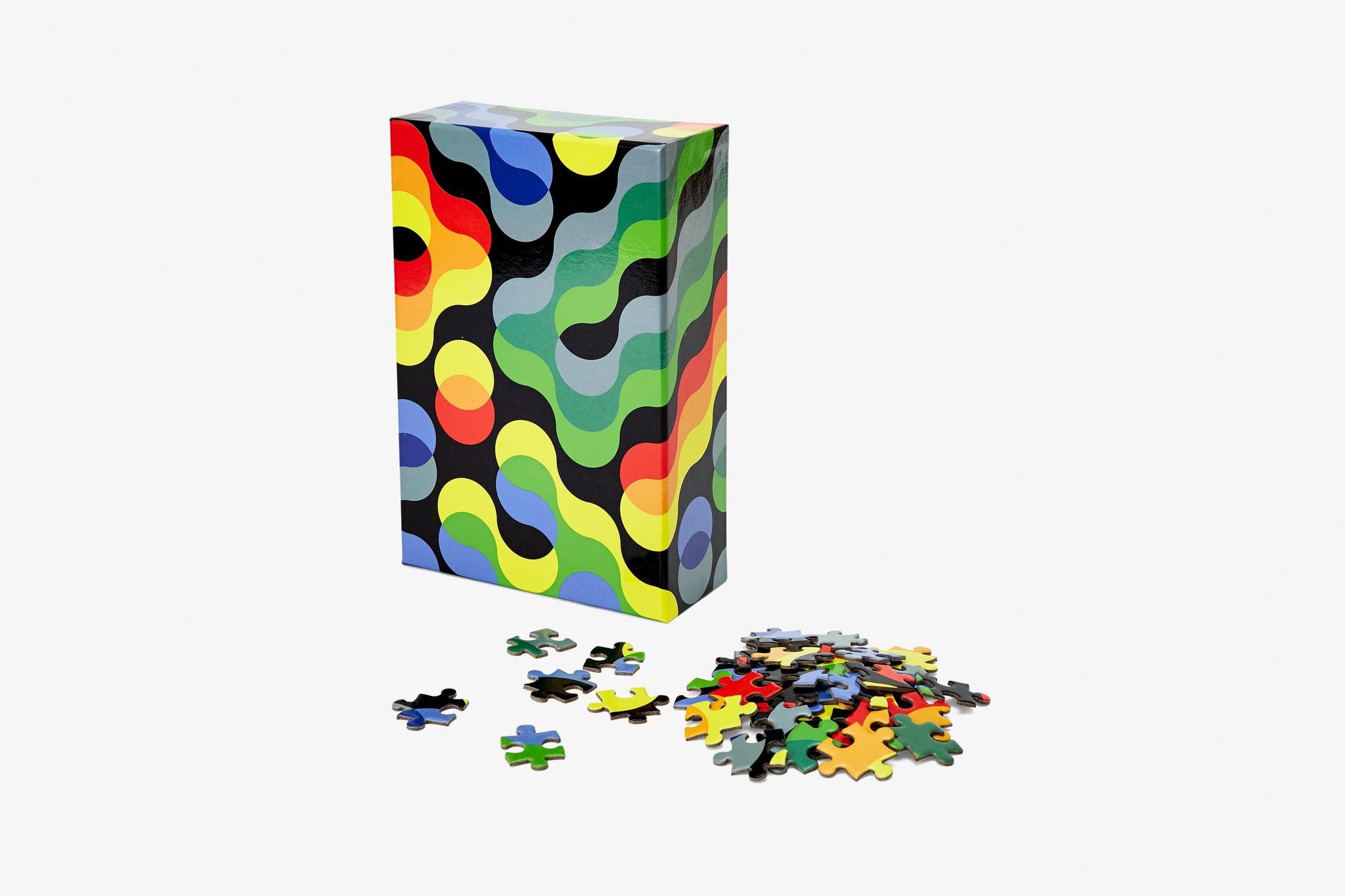 Pattern  Puzzle Sm 100pc