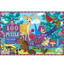 eeBoo Life On Earth 100pc Puzzle