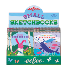 eeBoo Small Sketchbooks Animal Assort