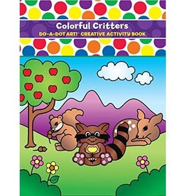 Do-A-Dot COLORFUL CRITTERS COLORING BOOK