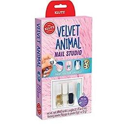 Klutz Velvet Animal Nail Studio